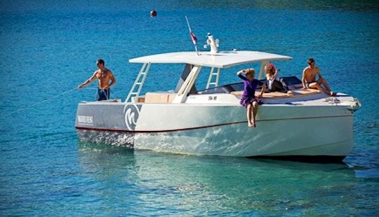 Charter 36' Colnago Motor Yacht In Hvar, Croatia