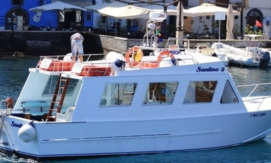 Charter 46' Santino Motor Yacht In Lipari, Sicilia