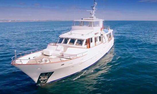 Charter 79' Atlantic Princess Power Mega Yacht In Bundall, Queensland