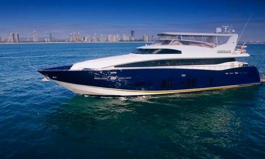 Charter 105' Patriot 1 Power Mega Yacht In Bundall, Queensland
