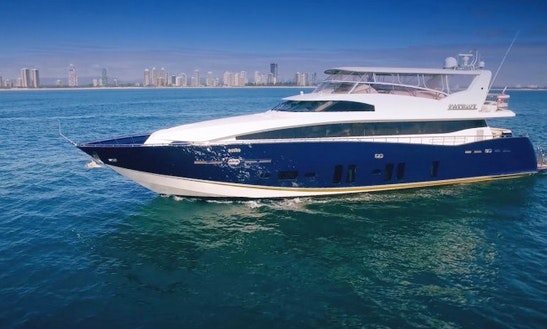 Charter 105' Patriot 1 Power Mega Yacht In Bundall, Queensland