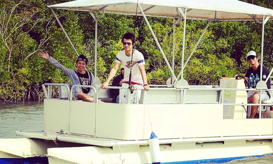 Absolutely Great 8 Person Pontoon for Hire in Queensland, Australia