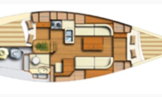 Charter 34' Dufour Cruising Monohull in Marsala, Sicilia