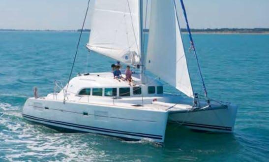Charter 38' Lagoon Cruising Catamaran In Marsala, Sicilia