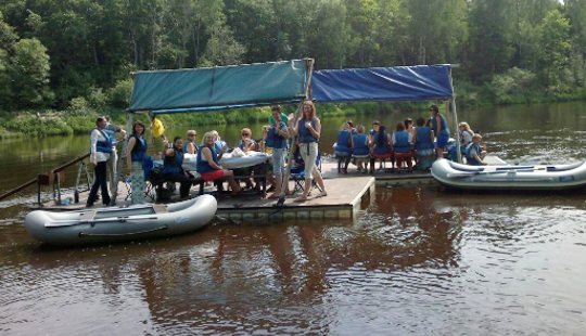 Fun And Exciting Mini Rafting Trips In Sigulda, Latvia