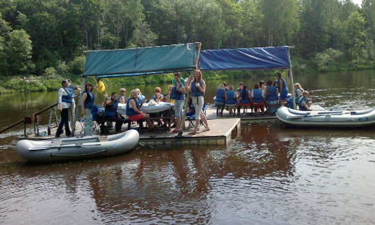 Fun And Exciting Mini Rafting Trips In Sigulda, Latvia