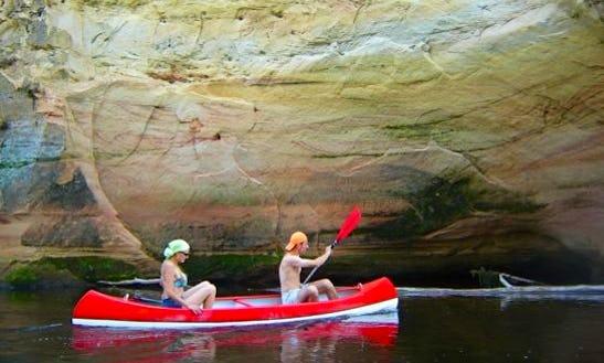 Affordable Canoe Rentals In Sigulda, Latvia