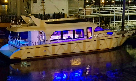 Charter 56' Power Mega Yacht In Toucheng Township, Taiwan