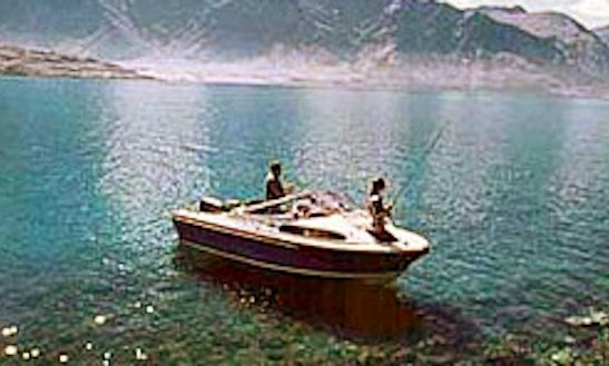 Enjoy Fishing In Queenstown, New Zealand On Dinghy