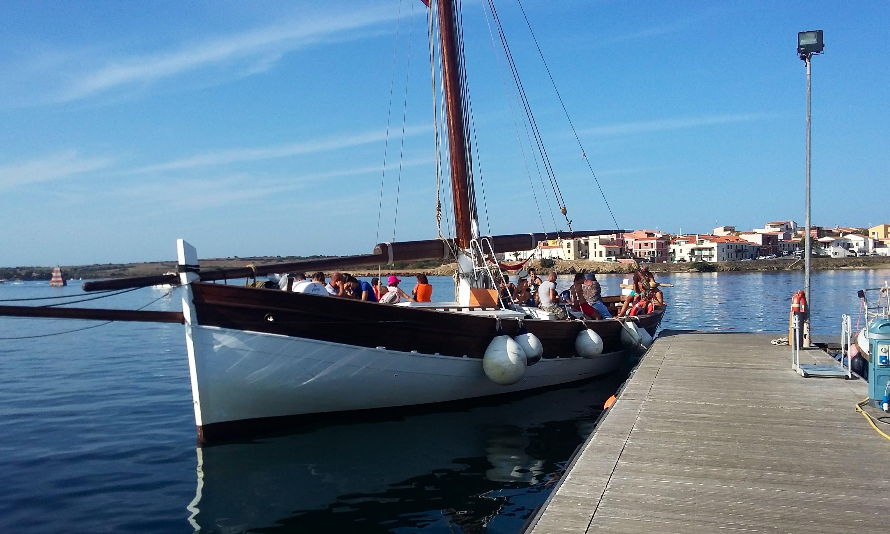 Enjoy Sightseeing Tours in Stintino, Sardegna on Elizabeth Gulet
