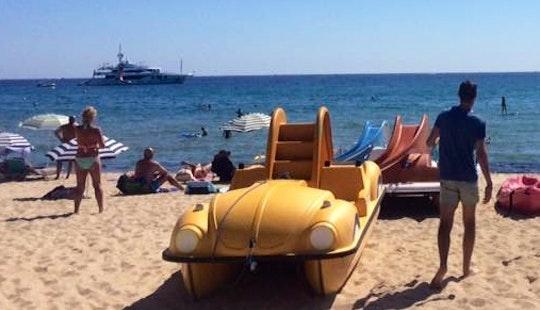 Enjoy Paddle Boat In Ramatuelle, France