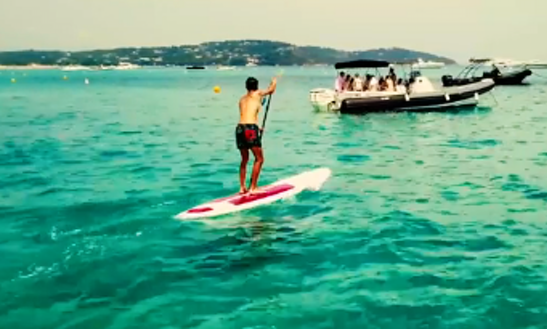 Enjoy Stand Up Paddleboard In Ramatuelle, France