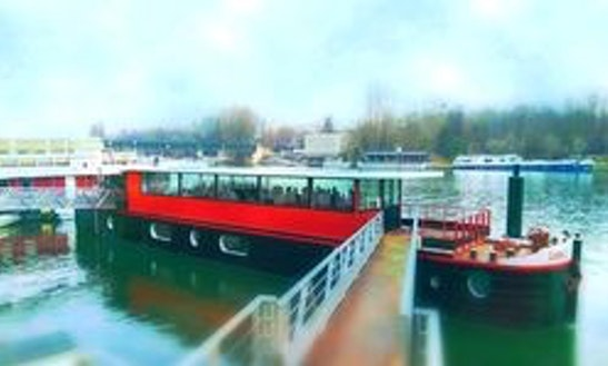 Charter A Espace Carnot Canal Boat In Paris, France