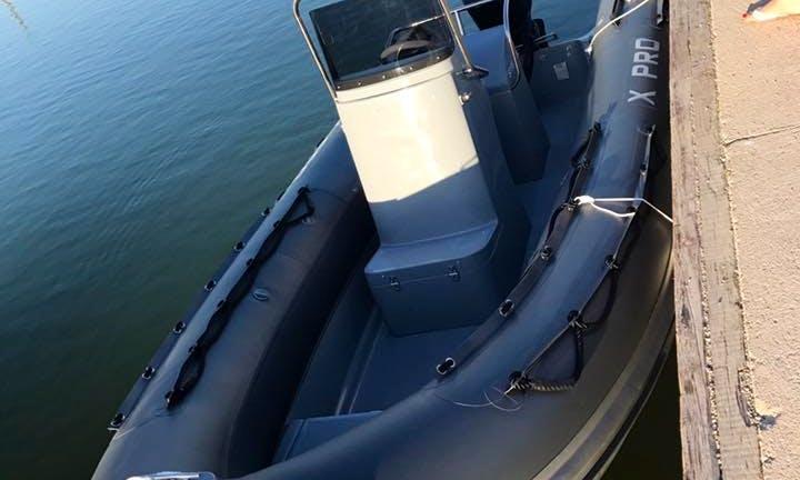 Rent a Xpro Rigid Inflatable Boat in Pérols, Occitanie