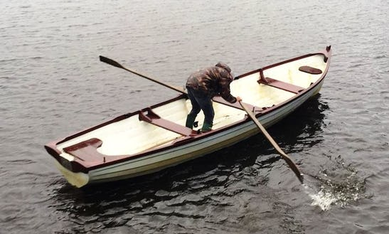 Enjoy Fishing In County Longford, Ireland On Dinghy