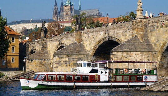 Great Time On Canal Boat Tour In Prague, Czech Republic!