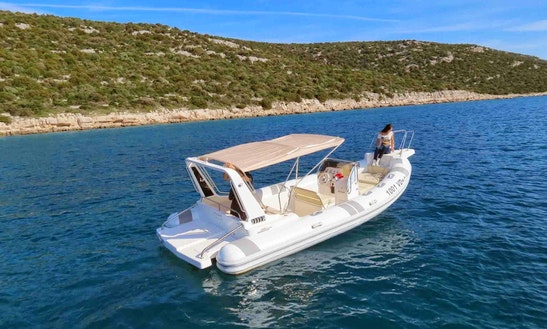 Charter 25' Ragusa Rigid Inflatable Boat In Pula, Istarska županija