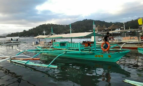 8 Person Traditional Boat Tour In Puerto Princesa, Philippines