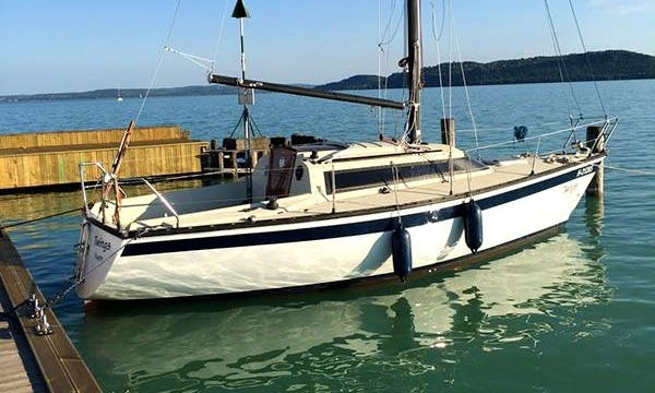 Rent 26' Twings Cruising Monohull in Balatonfüred, Hungary