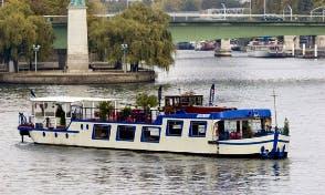 Charter 148' Le Coche d'Eau Canal Boat in Boulogne-Billancourt, France