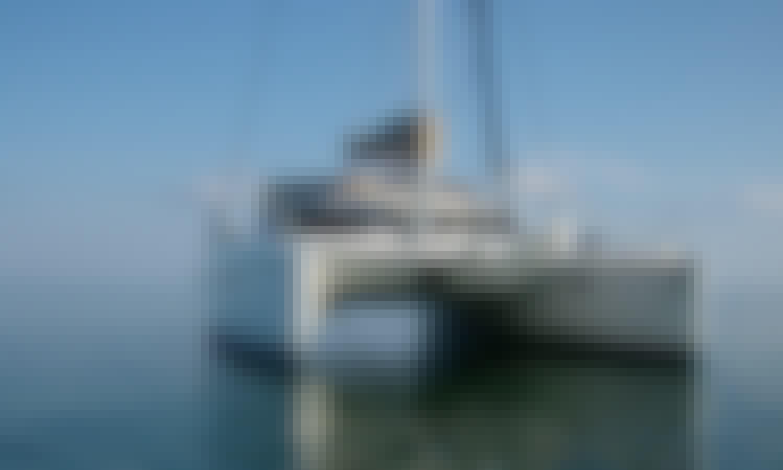 Charter 39' Lavezzi 40 Cruising Catamaran in Teulada, Sardegna