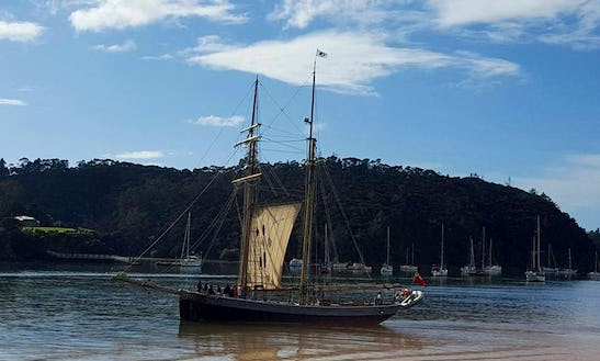 Enjoy Cruising In Russell, New Zealand On Tall Ship