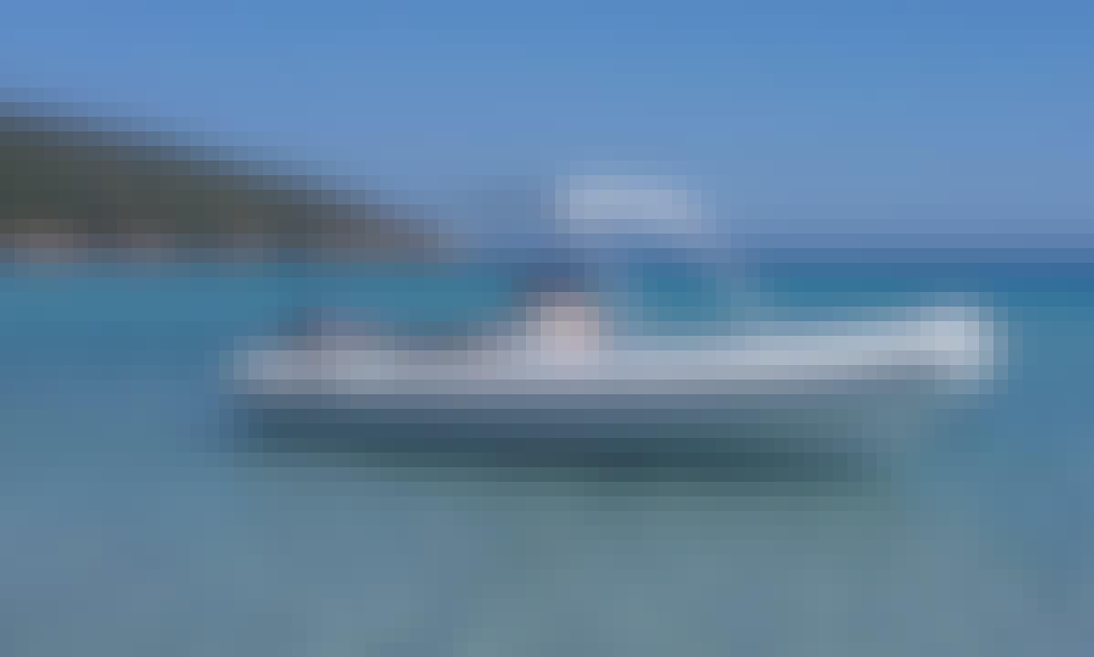 Rent 25' BSC 45 Sea Water Smeralda Rigid Inflatable Boat in Teulada, Sardegna