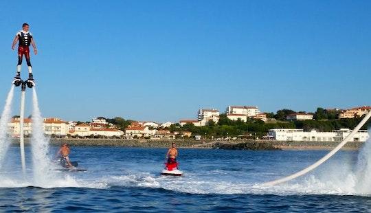 Enjoy Flyboarding In Anglet, France