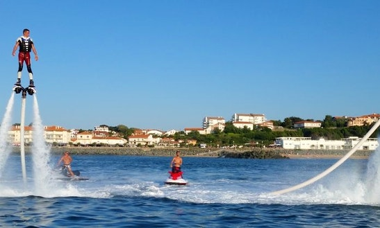 Enjoy Flyboarding In Anglet, France