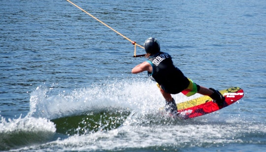 Enjoy Wakeboarding In Anglet, France