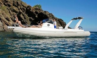 Rent 25' Capelli Tempest Rigid Inflatable Boat in Luri, France