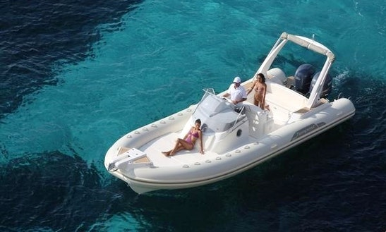 Rent 28' Capelli Tempest Rigid Inflatable Boat In Luri, France