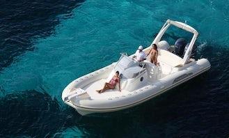 Rent 28' Capelli Tempest Rigid Inflatable Boat in Luri, France
