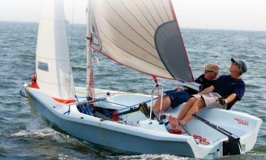 Rent Laser Bahia Sailing Dinghy In Porto Pollo, Sardegna