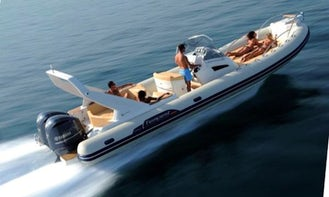 Rent 33' Capelli Tempest Rigid Inflatable Boat in Luri, France