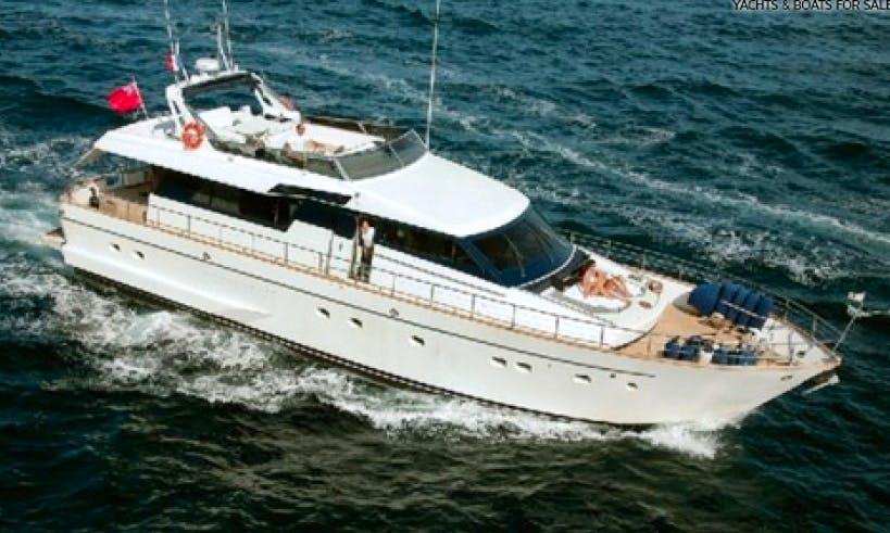 Charter 72' Lady Stephany Power Mega Yacht in Nabeul, Tunisia