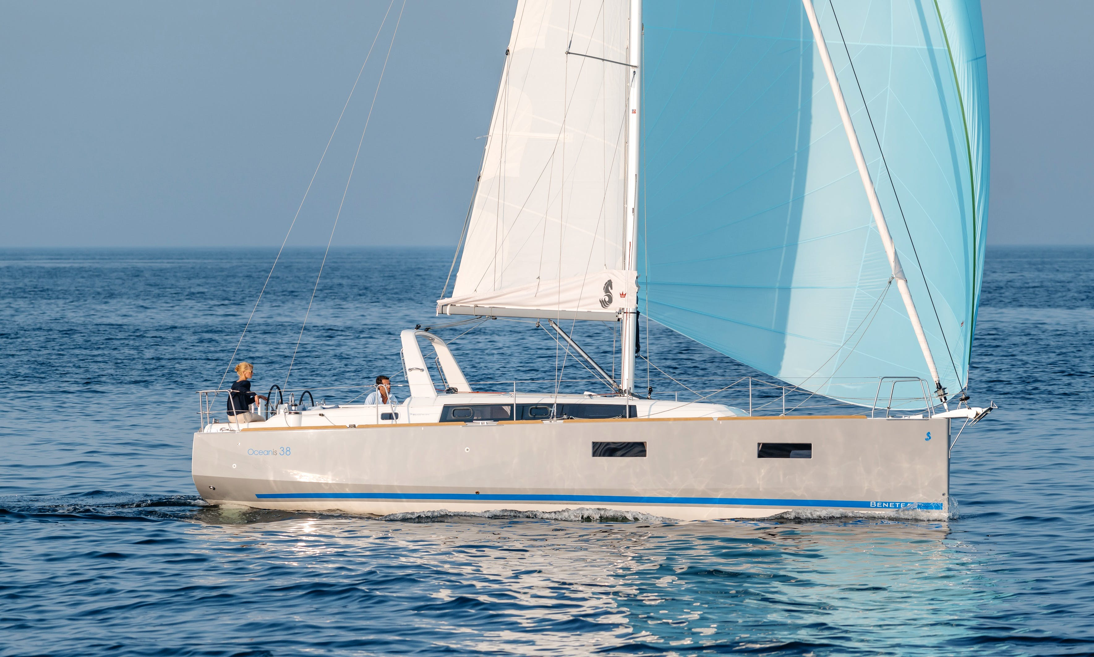 Charter this Beneteau Oceanis 38 Sailing Yacht in Barcelona, Spain