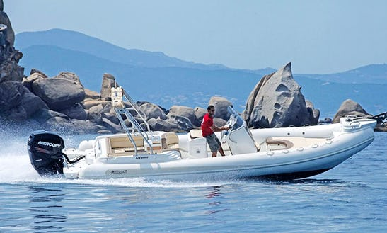Rent 27' Callegari Olimpus 82 Rigid Inflatable Boat In Ajaccio, France