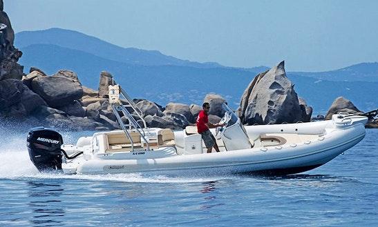 Rent 27' Callegari Olimpus 82 Rigid Inflatable Boat In Ajaccio, France