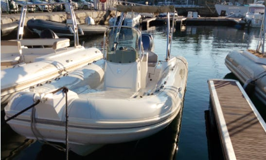 Rent 21' Capelli Tempest Rigid Inflatable Boat In Ajaccio, France