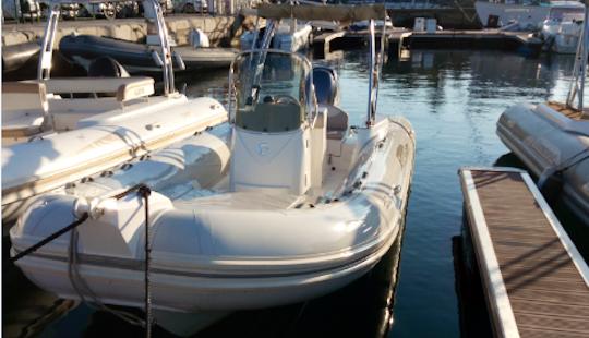 Rent 21' Capelli Tempest Rigid Inflatable Boat In Ajaccio, France