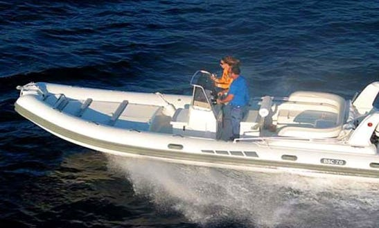 Rent 23' Colzani Bsc Rigid Inflatable Boat In Ajaccio, France