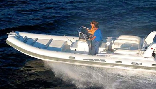 Rent 23' Colzani Bsc Rib With 225 Hp Outboard In Ajaccio, France
