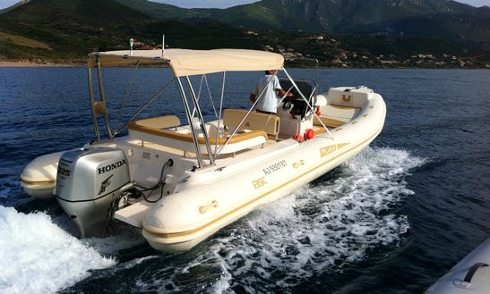 Rent 25' Colzani Bsc Rigid Inflatable Boat In Ajaccio, France