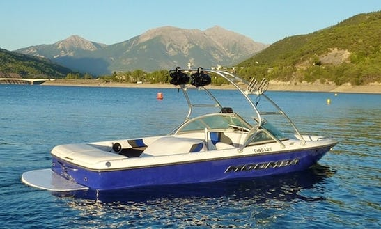 Rent 20' Moomba Outback Bowrider In Savines-le-lac, France
