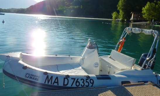 Rent 16' Pholas 15 Rigid Inflatable Boat In Savines-le-lac, France