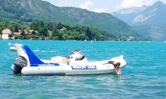 Charter A Rigid Inflatable Boat In Annecy, France