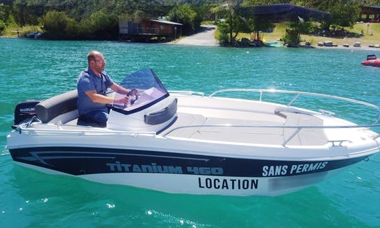 Rent 15' Sport Bowrider In Savines-le-lac, France