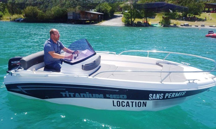 Titanium 460 Power Sport Boat in Savines-le-Lac, France