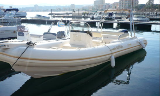Rent 26' Bsc 75 Rigid Inflatable Boat In Porto Pino, Sardegna